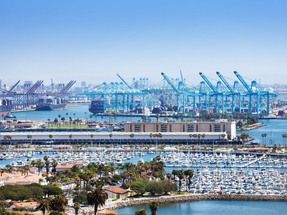 Long Beach Port Congestion