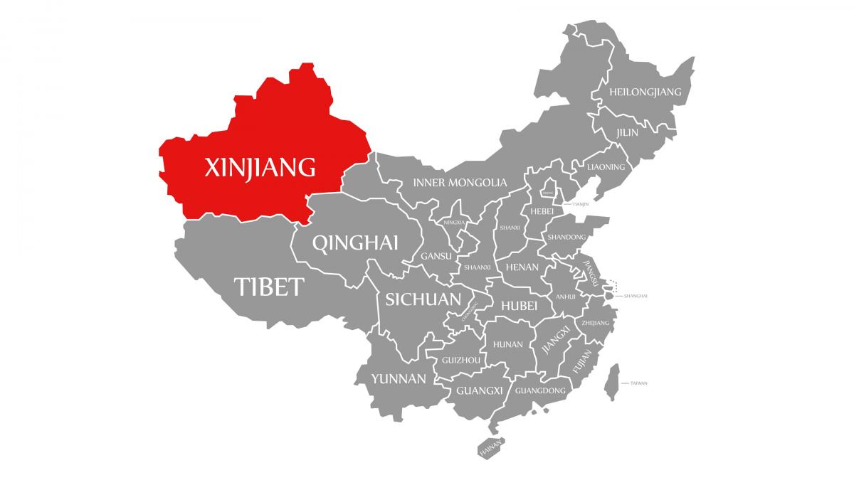 China's Xinjiang Region